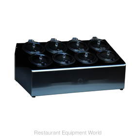 8-hole Condiment Dispenser, Complete