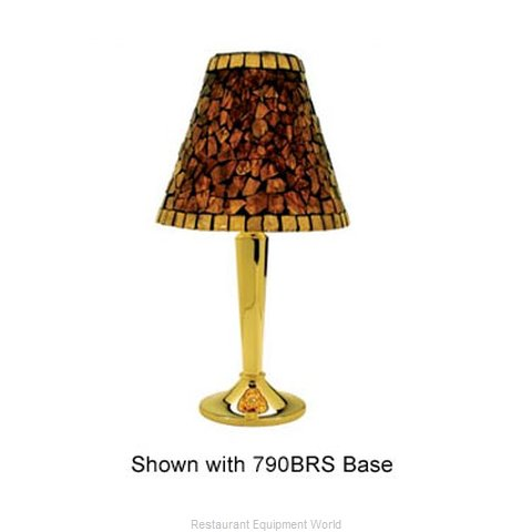 Sterno Group 981AMB Candle Lamp Shade