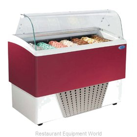 Stoelting BRIO 7-37 Display Case Gelato Ice Cream Dipping Cabinet