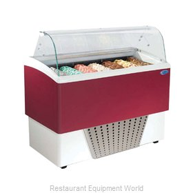 Stoelting CD-BR07-302-WP Display Case, Dipping, Gelato