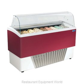 Stoelting CD-BR09-37-WP Display Case, Dipping, Gelato