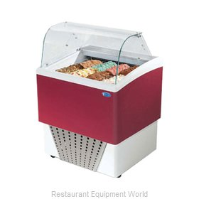 Stoelting CD-BR44-302-WP Display Case, Dipping, Gelato