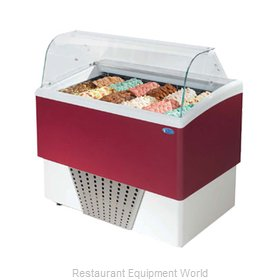 Stoelting CD-BR66-37-WP Display Case, Dipping, Gelato