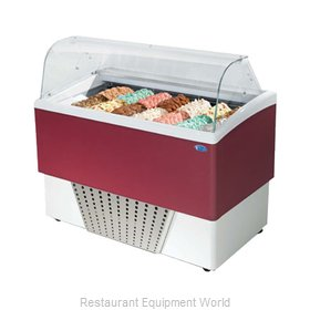 Stoelting CD-BR77-37-WP Display Case, Dipping, Gelato