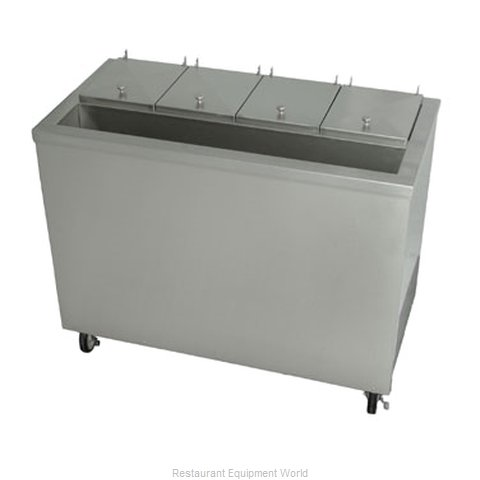 Stoelting DC4T-37R-A Ice Cream Dipping Cabinet with Syrup Rail