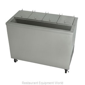Stoelting DC4T-37R Ice Cream Dipping Cabinet with Syrup Rail
