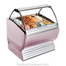 Stoelting ND 12-302 Display Case Gelato Ice Cream Dipping Cabinet