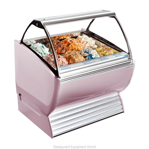 Stoelting ND 12-38 Display Case Gelato Ice Cream Dipping Cabinet