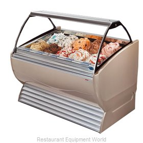 Stoelting ND 16-38 Display Case Gelato Ice Cream Dipping Cabinet