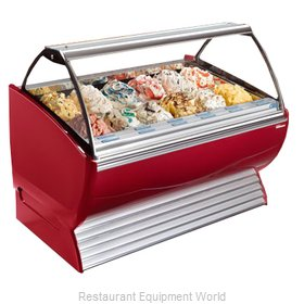Stoelting ND 18-302 Display Case Gelato Ice Cream Dipping Cabinet