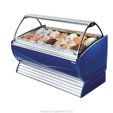 Stoelting ND 20-38 Display Case Gelato Ice Cream Dipping Cabinet