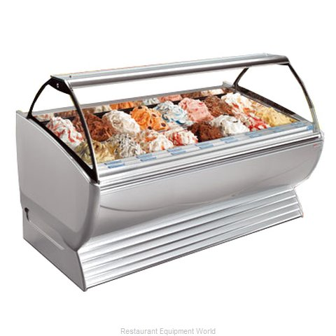 Stoelting ND 24-302 Display Case Gelato Ice Cream Dipping Cabinet