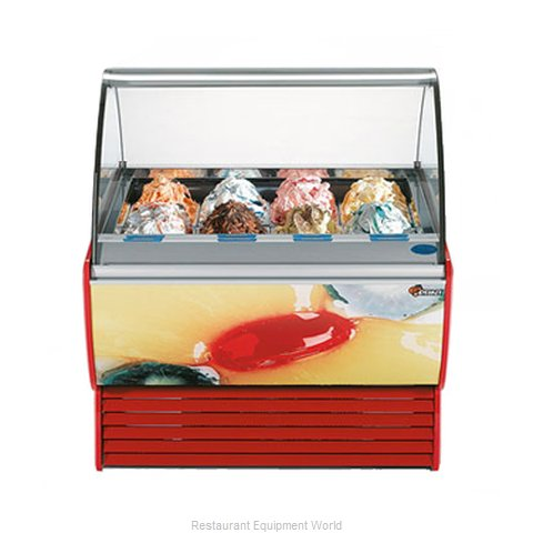 Stoelting SPRINT 12-302 Display Case Gelato Ice Cream Dipping Cabinet