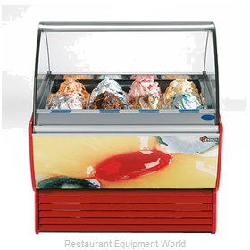 Stoelting SPRINT 12 WITH O-38 Display Case Gelato Ice Cream Dipping Cabinet