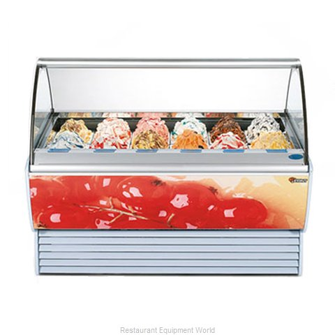 Stoelting SPRINT 18-302 Display Case Gelato Ice Cream Dipping Cabinet