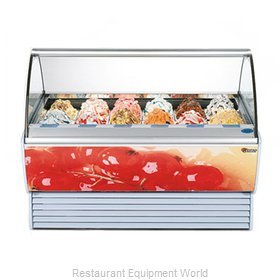 Stoelting SPRINT 18-38 Display Case Gelato Ice Cream Dipping Cabinet
