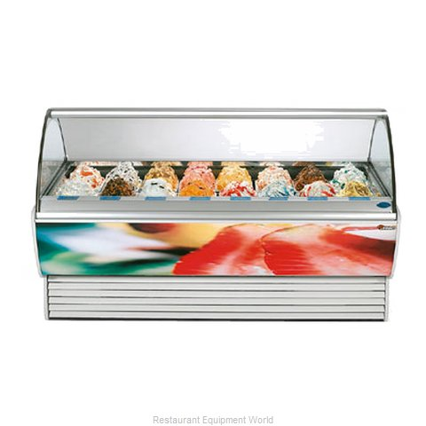Stoelting SPRINT 24 WITH O-38 Display Case Gelato Ice Cream Dipping Cabinet