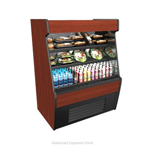 Structural Concepts CO35R-QS (F) Self-Service Refrigerated Open Air Screen Case
