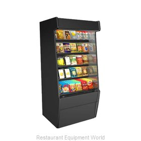 Structural Concepts CO37 Display Case, Non-Refrigerated, Self-Serve