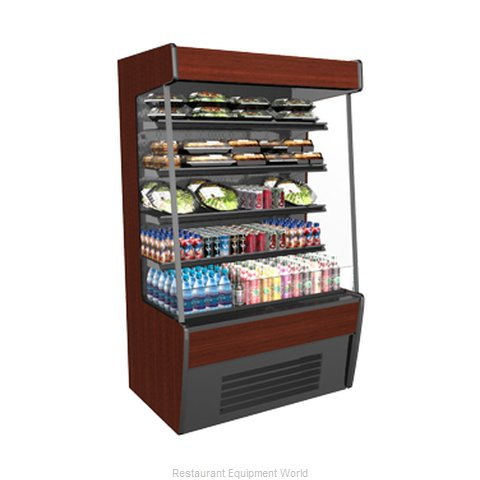 Structural Concepts CO37R-QS (C) Self-Service Refrigerated Open Air Screen Case