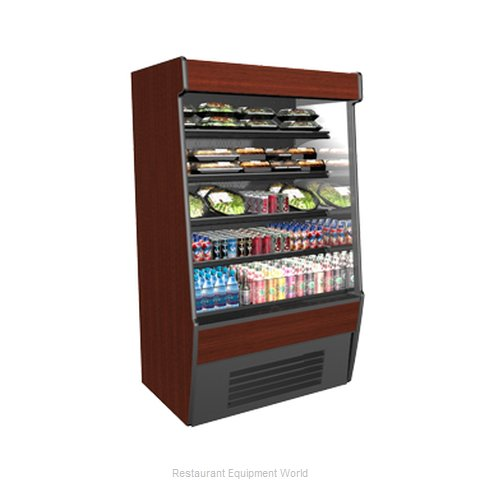 Structural Concepts CO37R-QS (F) Self-Service Refrigerated Open Air Screen Case