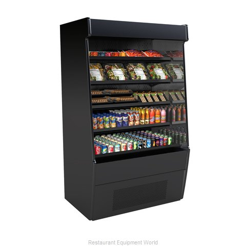 Structural Concepts CO57R-E3 Self-Service Refrigerated Open Air Screen Case