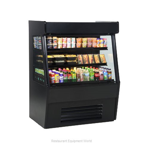 Structural Concepts CO65RZ Self-Service Refrigerated Open Air Screen Case