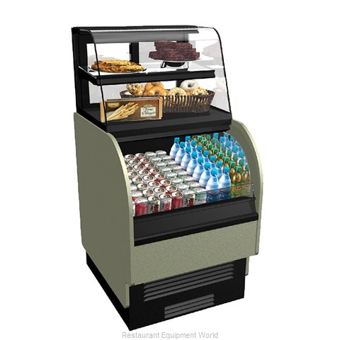 Structural Concepts COU2757R Display Case, Refrigerated/Non-Refrig