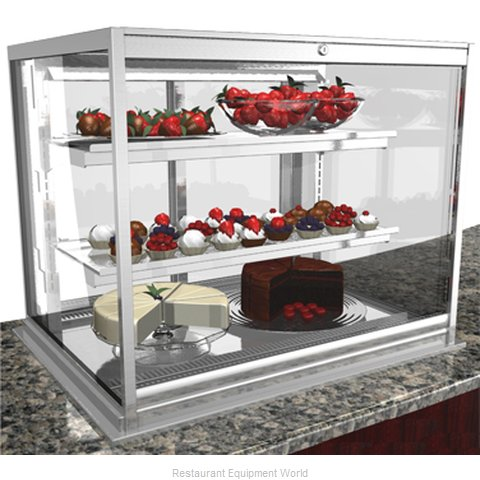 Structural Concepts DGS2430R Refrigerated Merchandiser, Drop-In