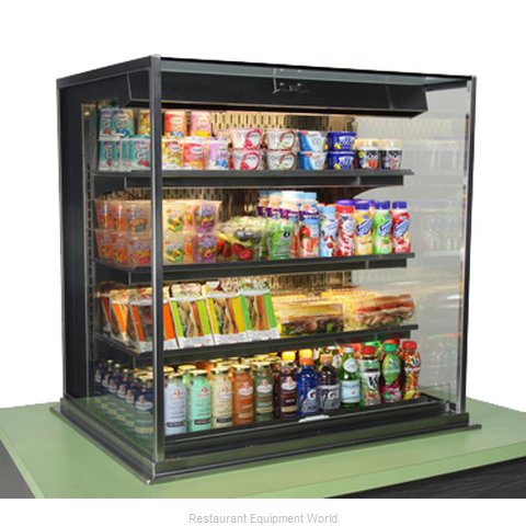 Structural Concepts DOS3637R Self-Service Refrigerated Drop-In Case
