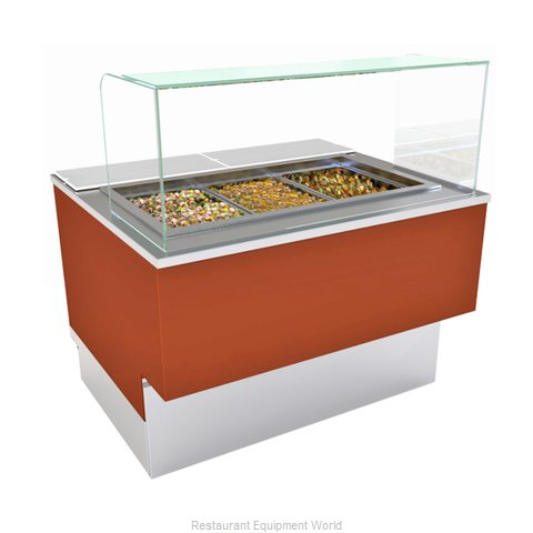 Structural Concepts FB5S-4R Serving Counter, Cold Food