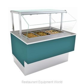 Structural Concepts FB6SS-4R Serving Counter, Cold Food