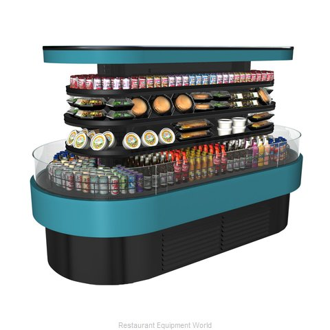 Structural Concepts FSI863R Display Case, Refrigerated, Self-Serve