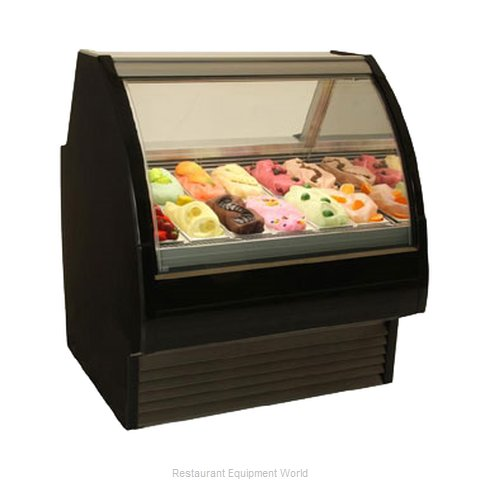 Structural Concepts G12F Service Refrigerated Gelato Merchandiser (Magnified)