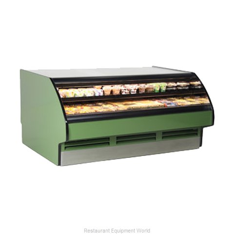 Structural Concepts GHSS636R Work Top Self-Serve Refrigerated Case