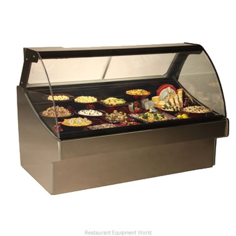 Structural Concepts GLDS5R Display Case, Refrigerated Deli