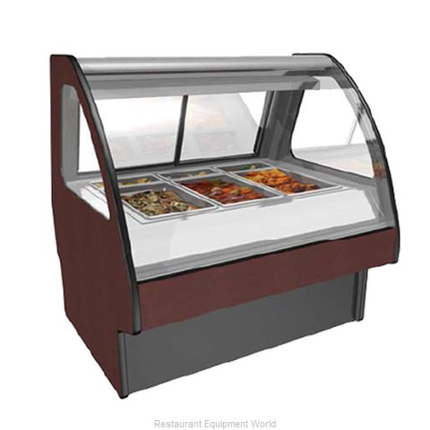 Structural Concepts GMS4H Display Case, Heated Deli, Floor Model