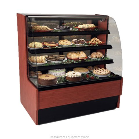 Structural Concepts HMG5153Z Display Case, Non-Refrigerated Bakery