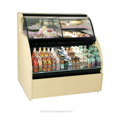 Structural Concepts HOU7452R Service Self-Service Combo Merchandiser
