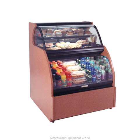 Structural Concepts HUDLR5652 Display Case, Refrigerated/Non-Refrig