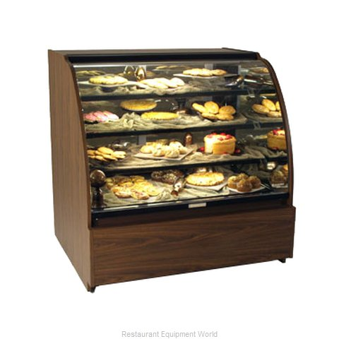 Structural Concepts HV38 Service Non-Refrigerated Bakery Merchandiser
