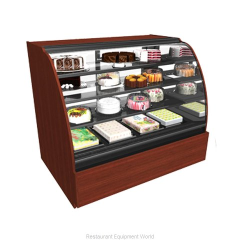 Structural Concepts HV48R-QS (F) Service Refrigerated Bakery Merchandiser (Magnified)