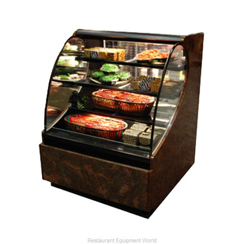 Structural Concepts HV56RSSRD Self-Service Refrigerated Open Air-Screen Case