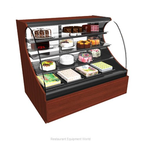 Structural Concepts HV74R-QS (C) Service Refrigerated Bakery Merchandiser