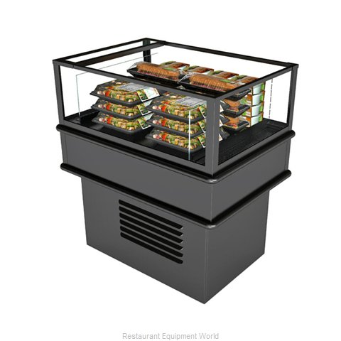Structural Concepts MI33R Display Case, Refrigerated, Self-Serve