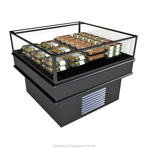Structural Concepts MI44R Display Case, Refrigerated, Self-Serve