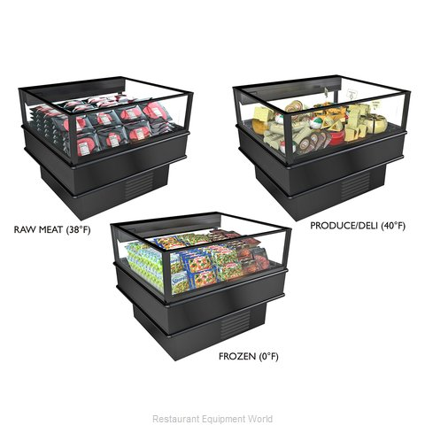 Structural Concepts MI46RF Merchandiser, Open Refrigerated Display