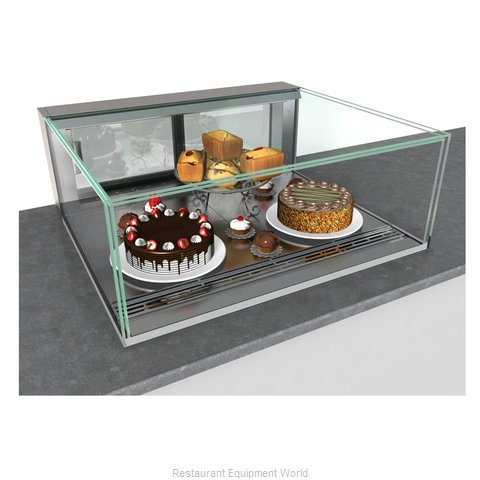 Structural Concepts NE6013RSV Display Case, Refrigerated, Slide In Counter