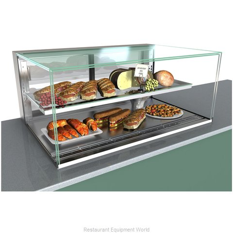 Structural Concepts NE6020RSV Display Case, Refrigerated, Slide In Counter