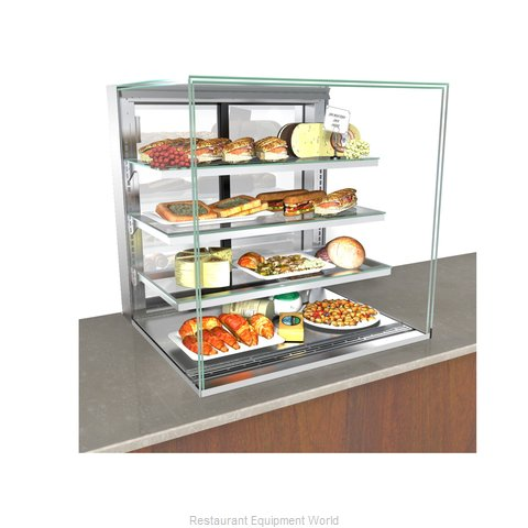 Structural Concepts NE7235RSV Display Case, Refrigerated, Slide In Counter